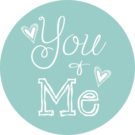 Cuoio slider met tekst You & Me