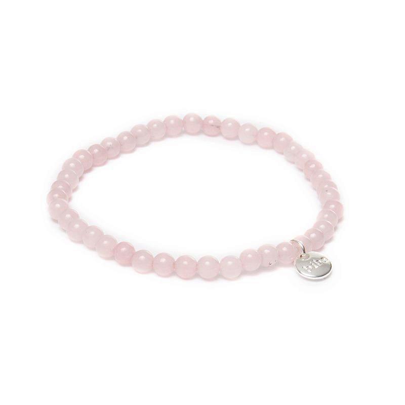 Biba jade armband kleur lightly pink kralen 4mm