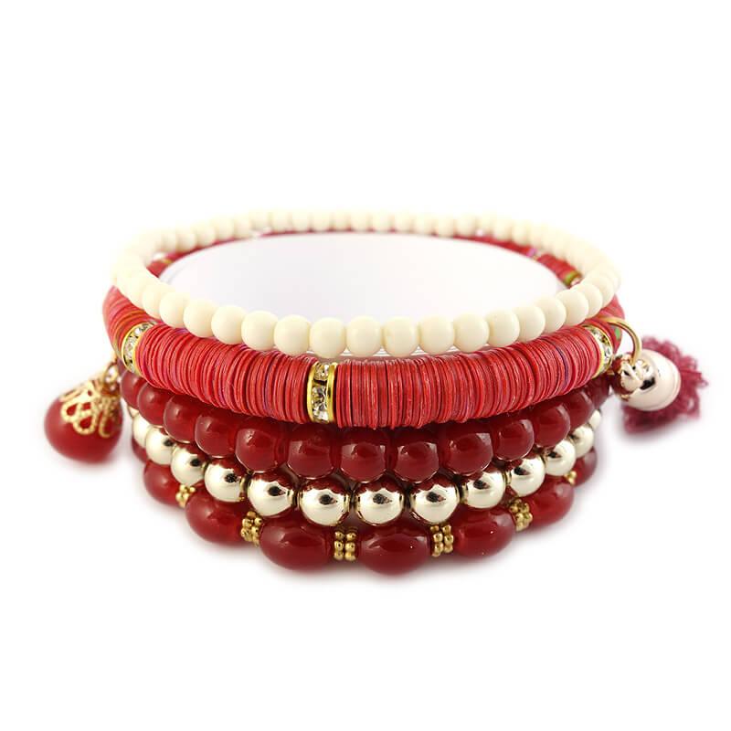 Armbanden set Rossella detail