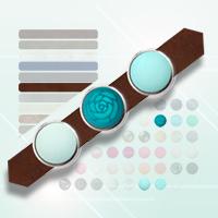 Afbeelding Cuoio armband online samenstellen