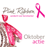 Oktober actie Pink Ribbon