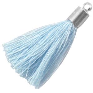 kwastje aqua blue
