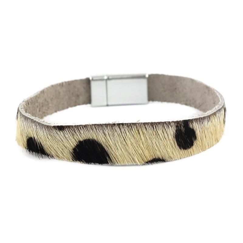 lerena armband kleur leopard black