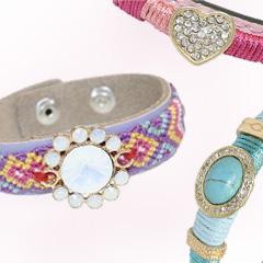 Nieuwe Ibiza en Gypset style armbanden