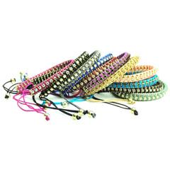 Ibiza armbandjes met knoopsluiting