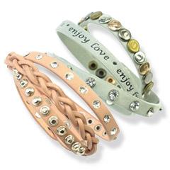 Nieuw: wikkelarmbanden