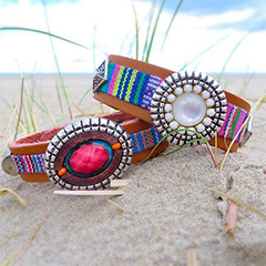 Trendy armbanden zomer 2014