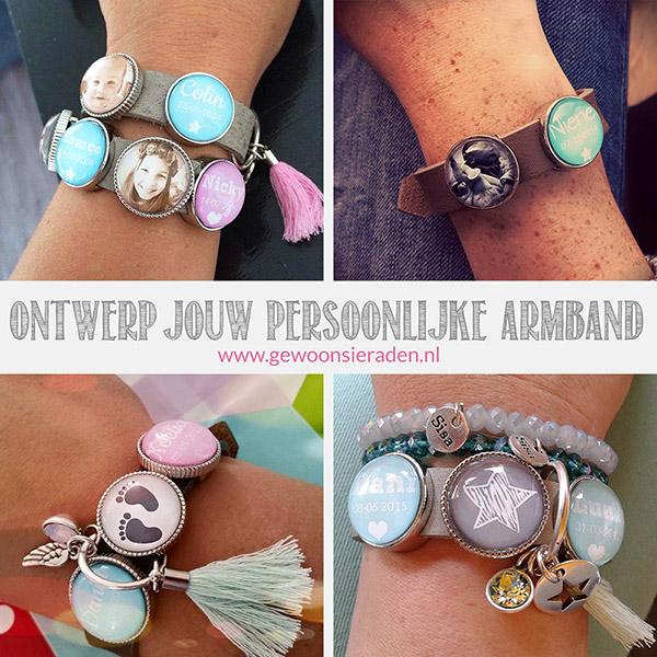 Ontwerp jouw persoonlijke armband