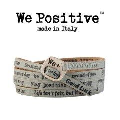 We Positive armband Sage
