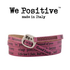 We Positive armband Cyclamen