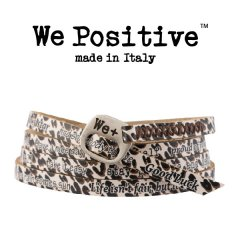 We Positive armband Leopard
