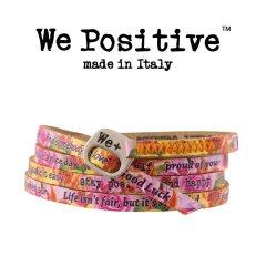We Positive armband Roses