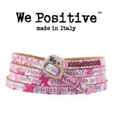We Positive armband Pink Camouflage