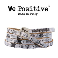 We Positive armband Gray Camouflage
