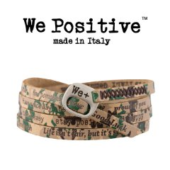 We Positive armband Green Camouflage