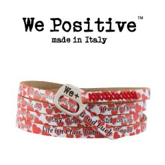 We Positive armband Hearts