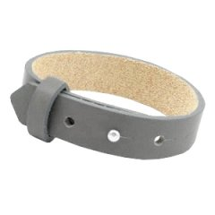 brede armband anthracite grey