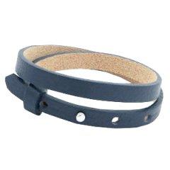 smalle armband dark midnight blue dubbel