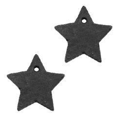 leren-ster-zwart