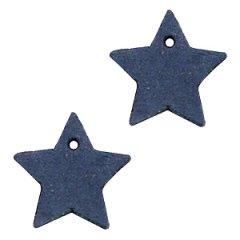 Leren-ster-donkerblauw