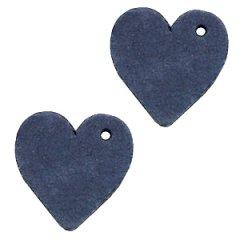 Leren-hart-dark-blue