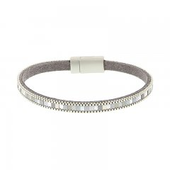 biba armband kleur zilver smal