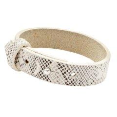 Brede-armband-snake-white