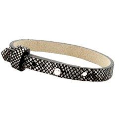 Smalle-armband-snake-black