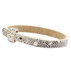Smalle-armband-snake-white