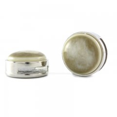 Slider zilver stardust cream white