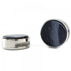 Slider zilver kilim midnight blue 20mm