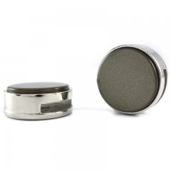 Slider zilver super midnight grey