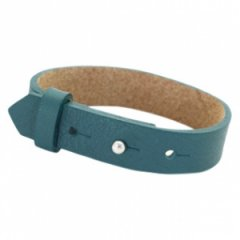Brede armband night tide green