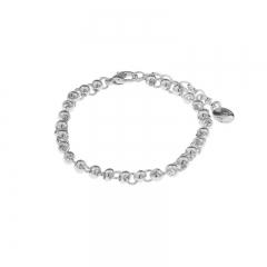 Biba armband met verlengketting vorm bal en cirkel maat 16 tot en met 18 cm