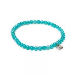 Biba jade armband kleur seafoam kralen 4mm