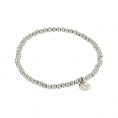 Biba pearl armband kleur cloud grey kralen 3mm