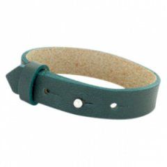 brede armband kleur forest green