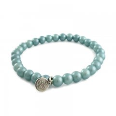armband shiny sky blue