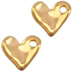 goudkleurig dicht hartje