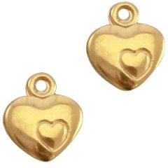 goudkleurig hartje