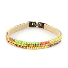 biba ibiza armband smal groen geel