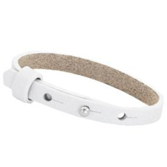 Smalle armband bright white
