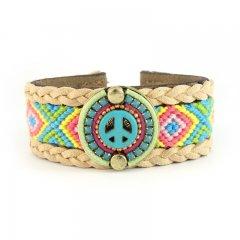 ibiza gypsy armband peace