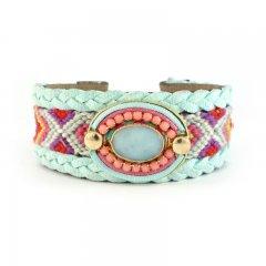 ibiza gypsy armband turquoise