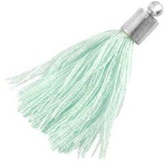 kwastje pastel groen