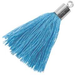 Kwastje ultramarine blauw