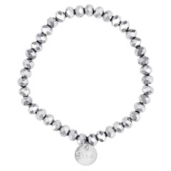 Facet armband labrador silver