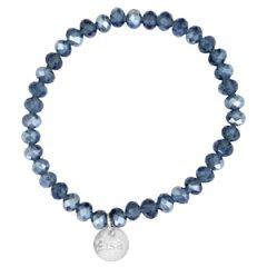 facet armband montana blue
