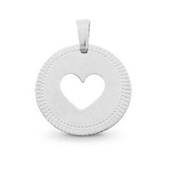 Hanger rond vorm hart materiaal rvs