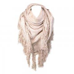 Sjaal roze glitter